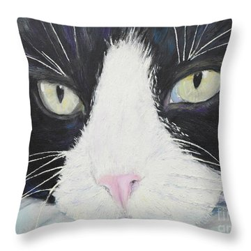 Sissi The Cat 2 Throw Pillow