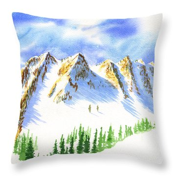 Sisters 2 Throw Pillow
