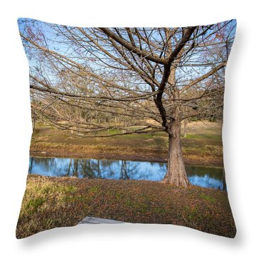 Sit And Dream Throw Pillow