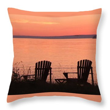 Sit For A Spell Throw Pillow