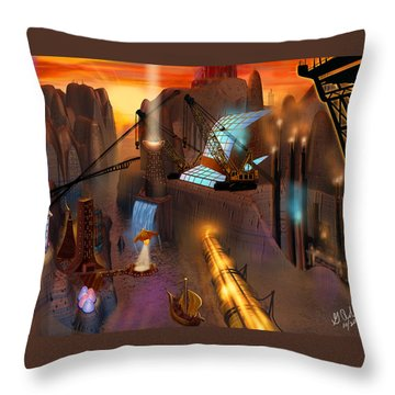 Siton Provence Throw Pillow by Gerry Robins