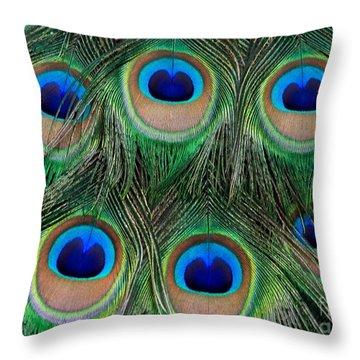 Six Eyes Throw Pillow