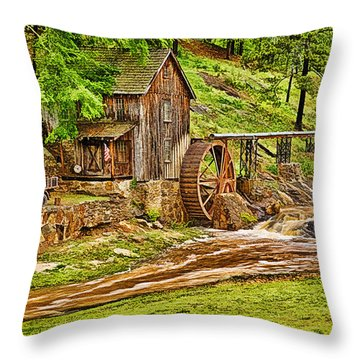 Sixes Mill Throw Pillow