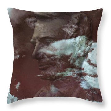Sixteenth Throw Pillow by Gabe Arroyo