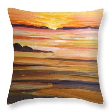 Skaket Beach Throw Pillow
