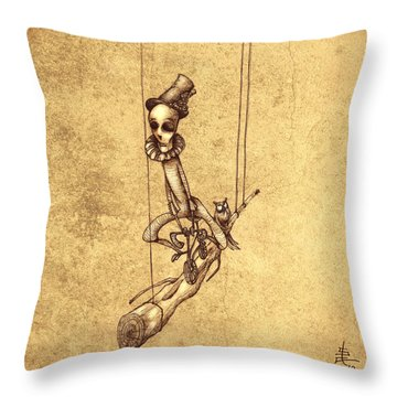 Scary Throw Pillows