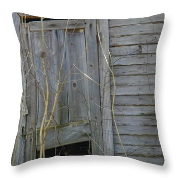 Throw Pillow featuring the photograph Skewed by Nick Kirby