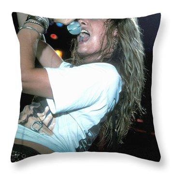 Skid Row Throw Pillow