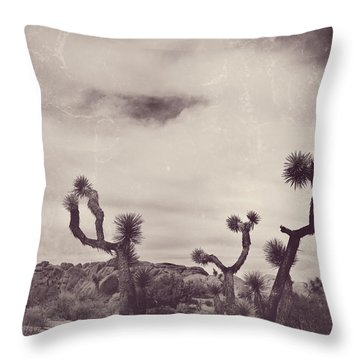 Skies May Fall Throw Pillow by Laurie Search