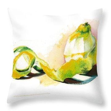 Skin.. Throw Pillow by Alessandra Andrisani