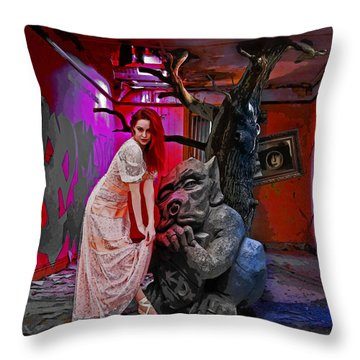 Skindeep Throw Pillow