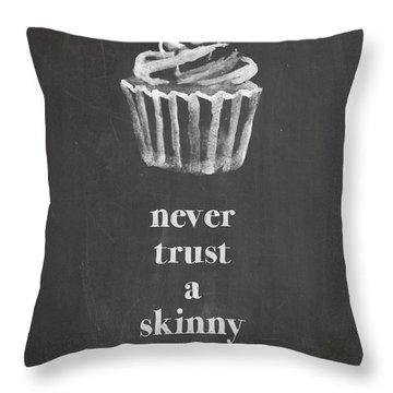 Skinny Cook Throw Pillow