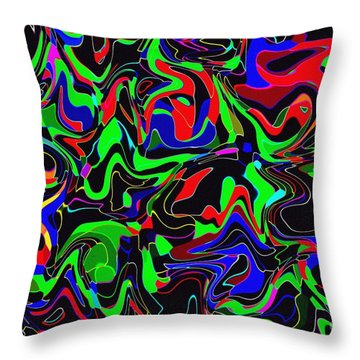 Throw Pillow featuring the photograph Skoob by Mark Blauhoefer
