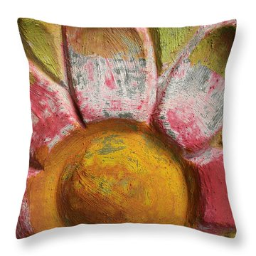 Skc 0008 Scraped Paint Throw Pillow