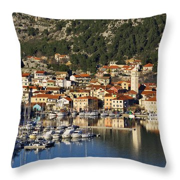 Skradin Throw Pillow