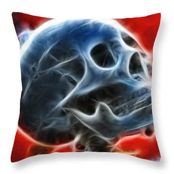 Skull #1 Throw Pillow