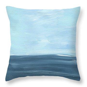 Sky And Sea Throw Pillow