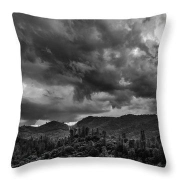 Big Sky Shasta County Throw Pillow