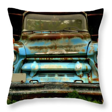 Sky Blue And Still Cool Throw Pillow
