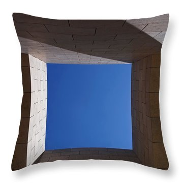 Sky Box At The Getty 2 Throw Pillow