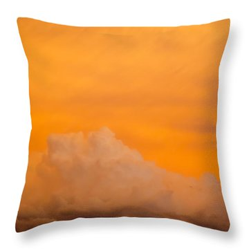 Sky Fire 001 Throw Pillow by Tony Grider