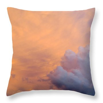 Sky Fire 003 Throw Pillow by Tony Grider