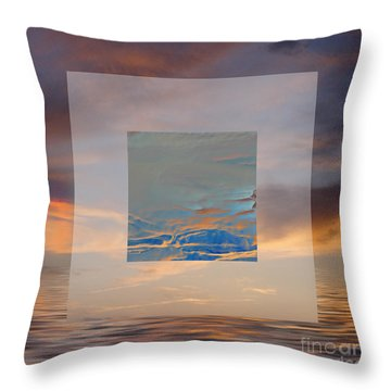 Sky Games Throw Pillow by Ursula Freer