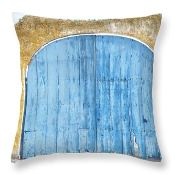 Throw Pillow featuring the photograph Sky Gate by Brian Boyle