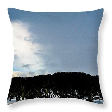 Sky Half Full Throw Pillow