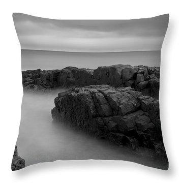 Sky Line Throw Pillow by Gunnar Orn Arnason