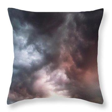Sky Moods Throw Pillow by Glenn McCarthy