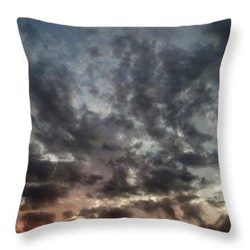 Sky Moods - Spectrum Throw Pillow by Glenn McCarthy
