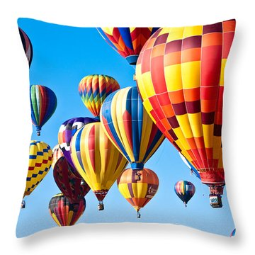 Sky Of Color Throw Pillow