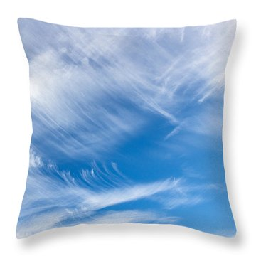 Sky Painting II Throw Pillow