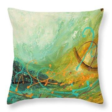 Sky Sailing Throw Pillow