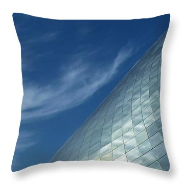 Throw Pillow featuring the photograph Sky Shine by Patricia Strand