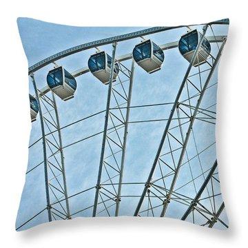 Sky Wheel  Throw Pillow