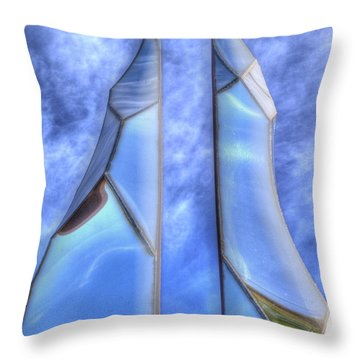 Skycicle Throw Pillow
