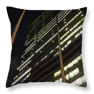 Skycraper Throw Pillow