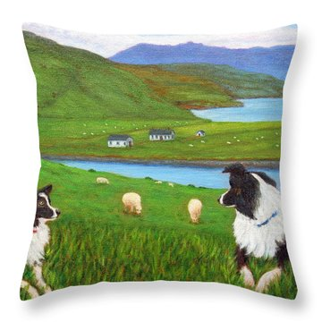 Skye Watch Throw Pillow