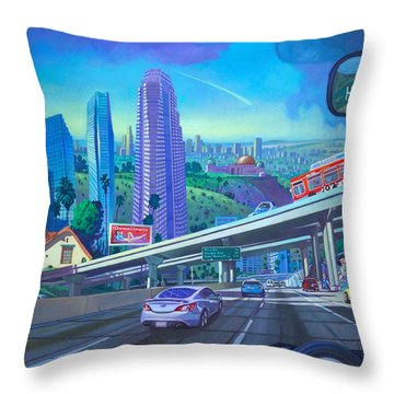 Skyfall Double Vision Throw Pillow