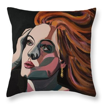 Skyfall Portrait Crop Throw Pillow