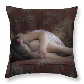 Skylas Retreat  Throw Pillow