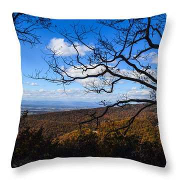 Skyline Dr. Throw Pillow