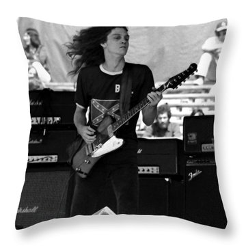 Skynyrd #24 Crop 2 Throw Pillow