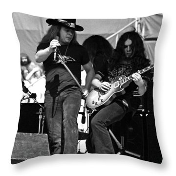 Skynyrd #26 Crop 2 Throw Pillow