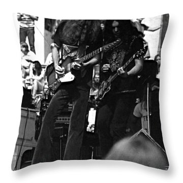 Skynyrd #5 Crop 2 Throw Pillow