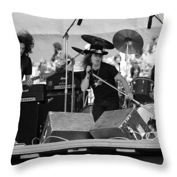 Skynyrd #8 Throw Pillow