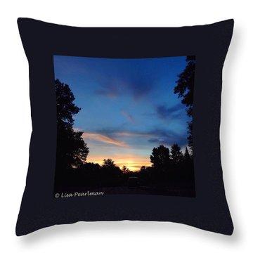 #skyporn #insta_pick_skyart Throw Pillow