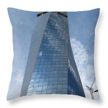 Skyscraper In Sarajevo Throw Pillow